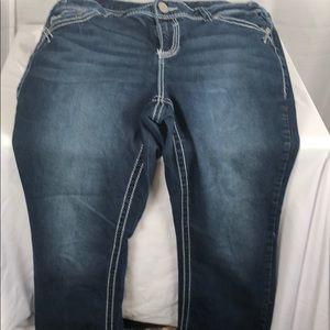 Maurice's size 14 Dark wash jeans